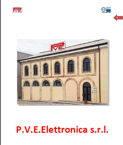 Catalogo Pve Elettronica